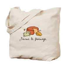 Jaime le fromage Tote Bag
