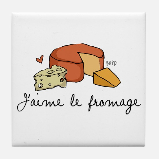Jaime le fromage Tile Coaster