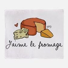 Jaime le fromage Throw Blanket