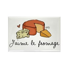 Jaime le fromage Rectangle Magnet
