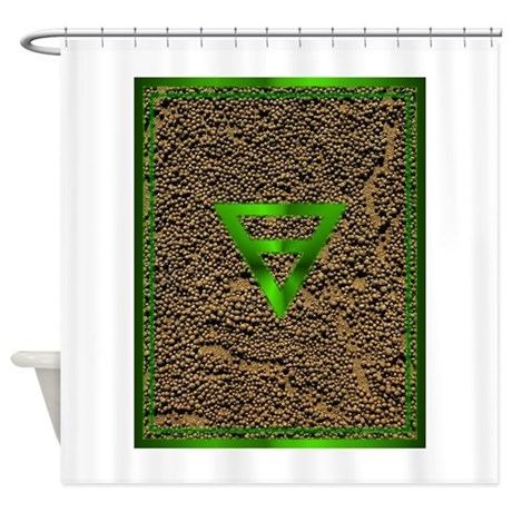 EARTH Tablet.png Shower Curtain