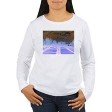 """Abstraction """"Nature"""" Long Sleeve T-Shirt"""