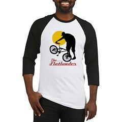 Cycling Flatlander Baseball Jersey