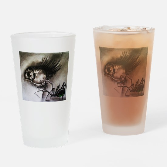 Eye of the Beholder Drinking Glass