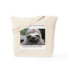 Killer Sloth Tote Bag
