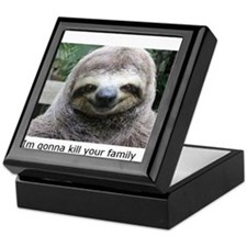 Killer Sloth Keepsake Box