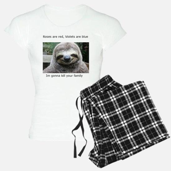 Killer Sloth Pajamas