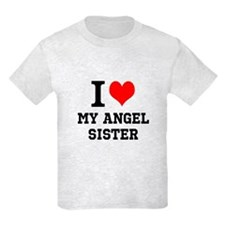 I Love My Angel Sister T-Shirt