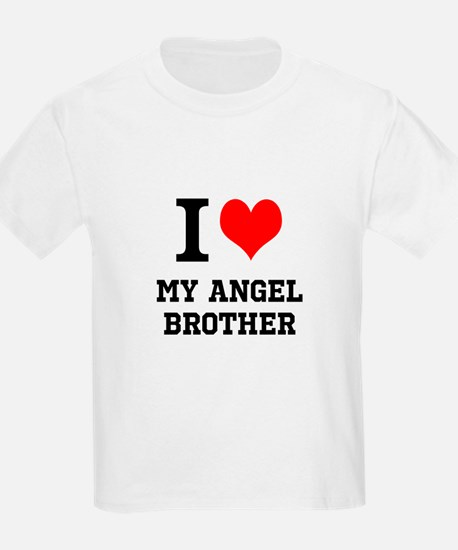 I Love My Angel Brother T-Shirt