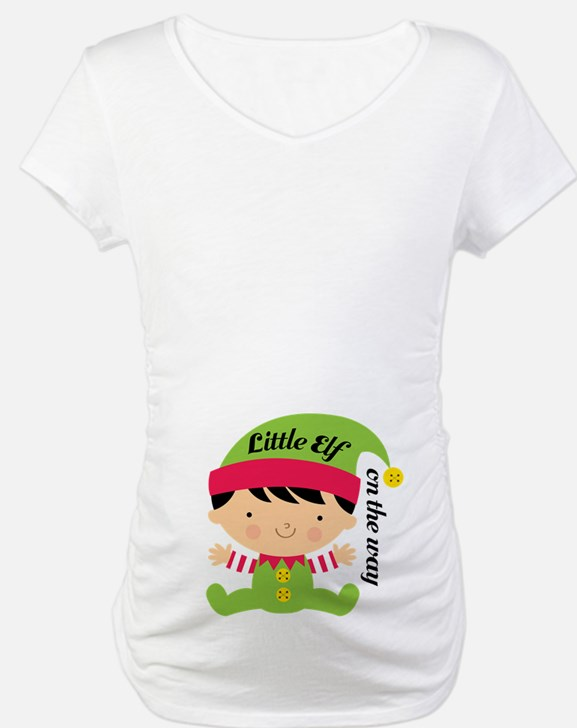 Little Elf On The Way Shirt