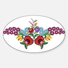 Kalocsai floral pattern Decal