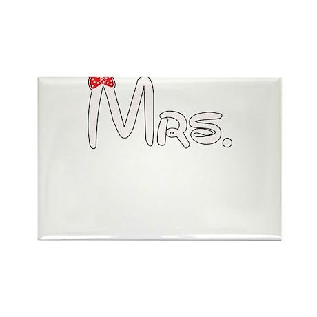 Mrs. Rectangle Magnet