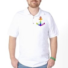 Rainbow Anchor T-Shirt