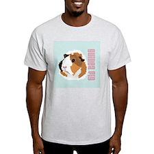 Retro Guinea Pig 'Elsie' (blue) T-Shirt