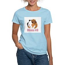 Retro Guinea Pig 'Elsie' (white) T-Shirt