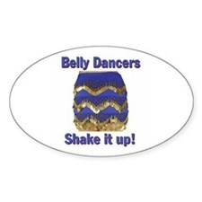 Shake It Up! Oval Decal