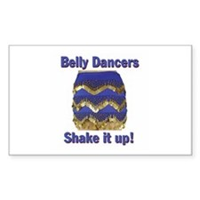 Shake It Up! Rectangle Decal
