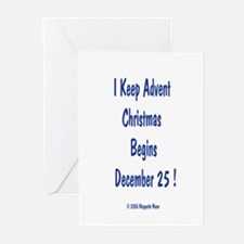 I Keep Advent Greeting Cards (Pk of 10)