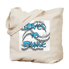 Loves to Dance Tote Bag