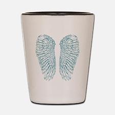 Blue Angel Shot Glass