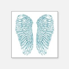 "Blue Angel Square Sticker 3"" x 3"""