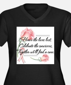 Honor the lives lost Plus Size T-Shirt