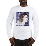 Cuchulain Long Sleeve T-Shirt - Wht/Gry