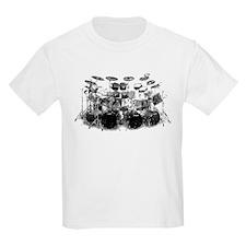 Drum Sketch Kids T-Shirt
