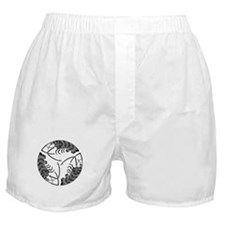 Circle of three spiny lobsters Boxer Shorts