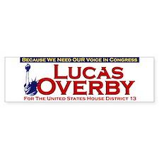 Lucas Overby Bumper Bumper Sticker