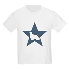 Cocker Spaniel Star Kids T-Shirt
