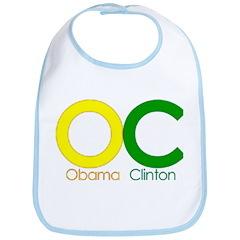 More Barack! With Clinton! Bib