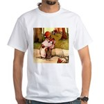 Attwell 8 White T-Shirt
