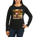 Attwell 8 Women's Long Sleeve Dark T-Shirt