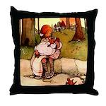 Attwell 8 Throw Pillow