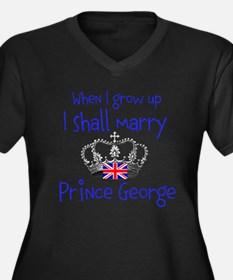 Marry Prince George Plus Size T-Shirt