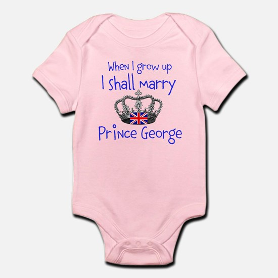 Marry Prince George Body Suit