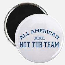 AA Hot Tub Team Magnet