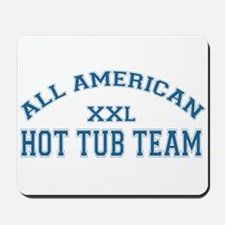 AA Hot Tub Team Mousepad