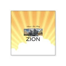 "ABH Zion Square Sticker 3"" x 3"""