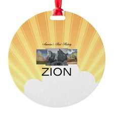 ABH Zion Round Ornament