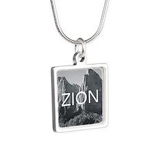 ABH Zion Silver Square Necklace
