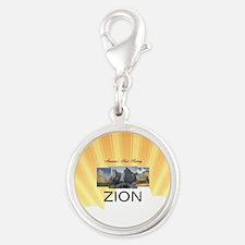 ABH Zion Silver Round Charm