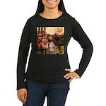 Attwell 10 Women's Long Sleeve Dark T-Shirt