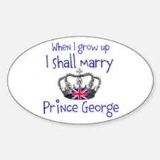 Marry Prince George Decal