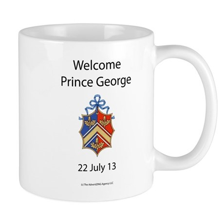Welcome Prince George Mug