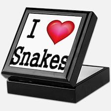 I LOVE SNAKES Keepsake Box