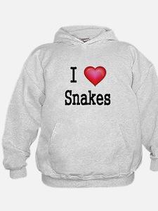 I LOVE SNAKES Hoodie
