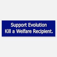 Support Evolution Bumper Bumper Bumper Sticker