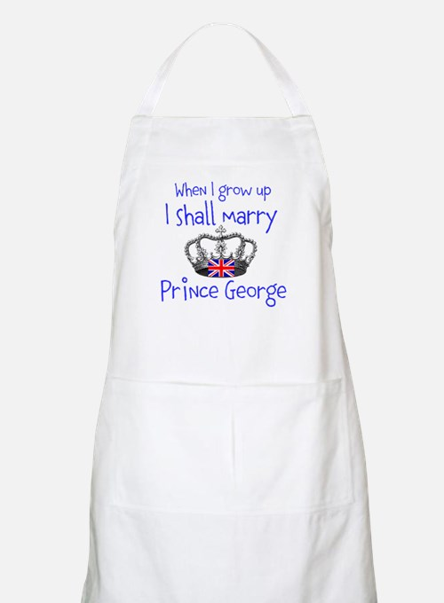 Marry Prince George Apron
